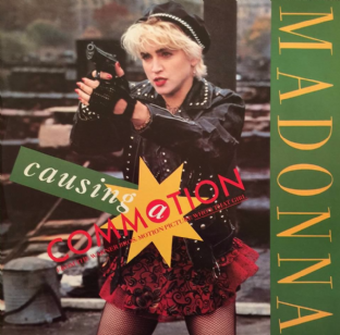 "Madonna - Causing A Commotion (12"") (PS) (EX/EX)"